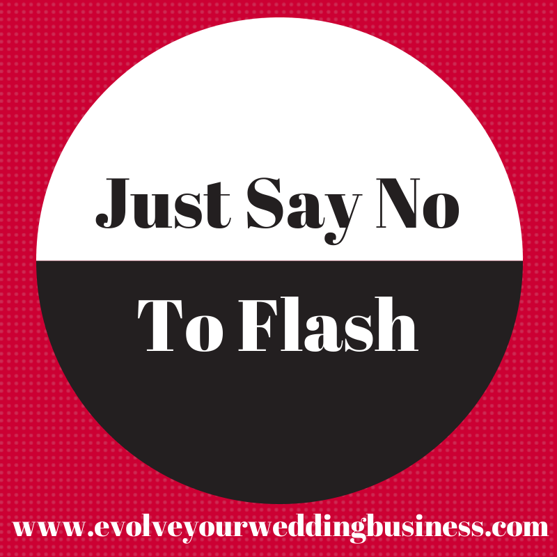 Just Say No To Flash