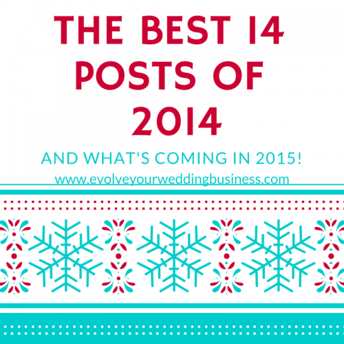 The Best 14 Posts Of 2014 & What's New For 2015