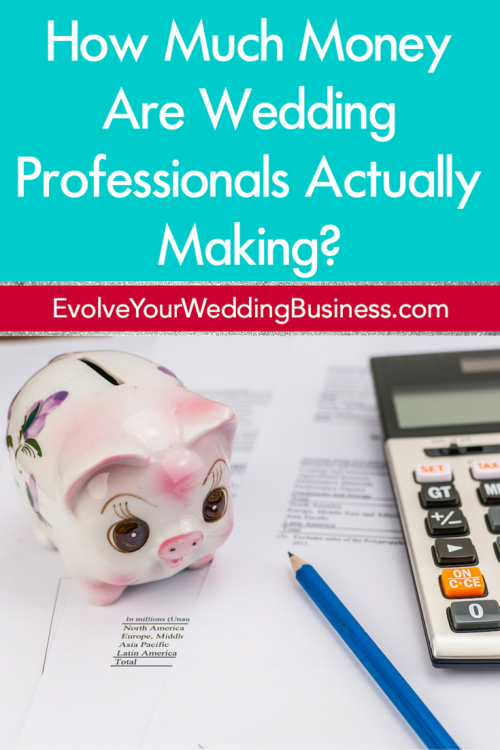 How Much Money Are Wedding Professionals Actually Making?