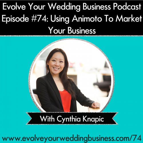 Episode 74: Using Animoto To Market Your Business With Cynthia Knapic