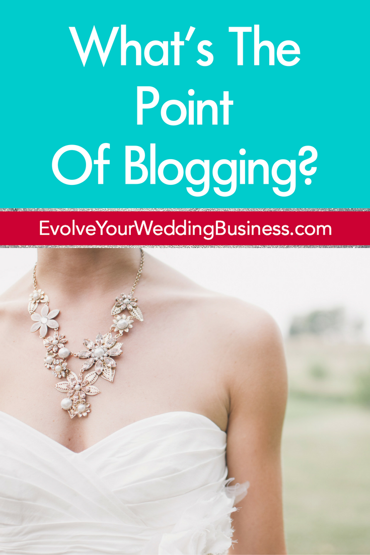 What's The Point Of Blogging?