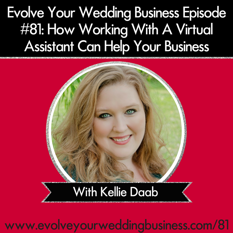 Episode #81 How Working With A Virtual Assistant Can Help Your Business with Kellie Daab