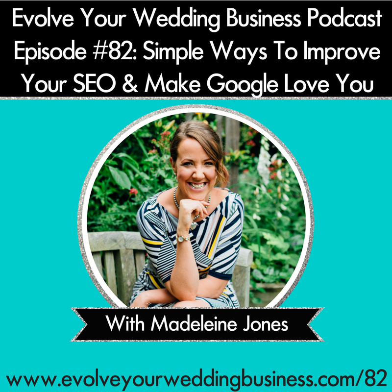 Simple SEO For Wedding Business With Madeleine Jones