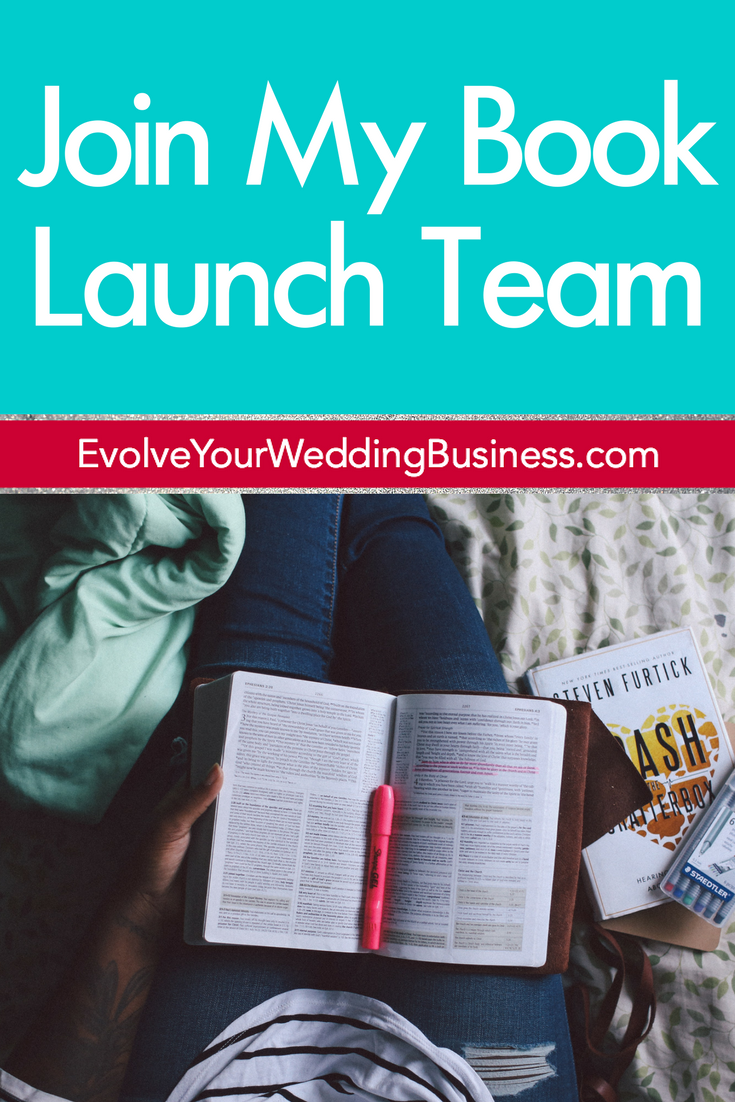 Join My Book Launch Team