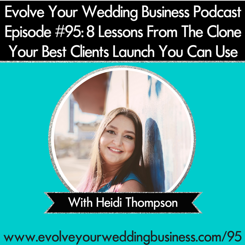 Episode #95: 8 Lessons From The Clone Your Best Clients Launch That You Can Use