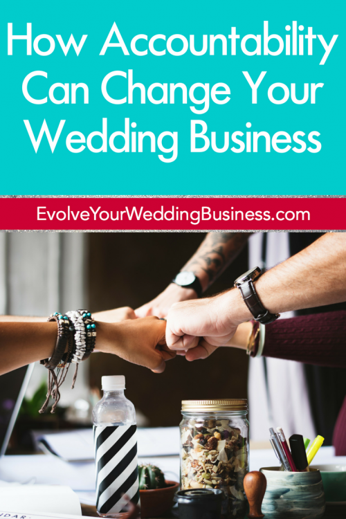How Accountability Can Change Your Wedding Business