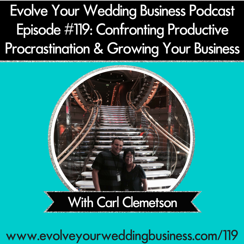 [On Air Coaching] Episode #119 Confronting Productive Procrastination & Growing Your Business with Carl Clemetson
