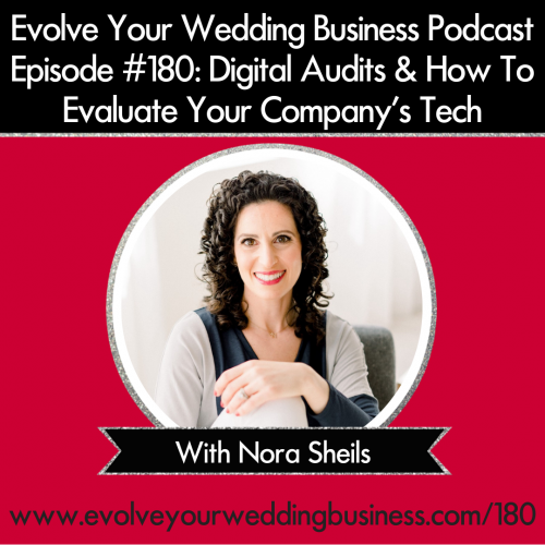 Episode 180: Digital Audits & How To Evaluate Your Company's Tech with Nora Sheils